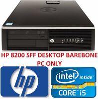 Cheap HP 8200 SFF Desktop Computer Fast Intel Quad Core i5-2400 3.10GHz Barebone