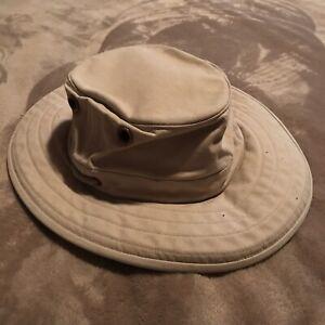 THE TILLEY HAT Size 7 5/8 Beige