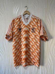 HOLLAND 1988 HOME FOOTBALL SHIRT SOCCER JERSEY ADIDAS sz XL NETHERLANDS