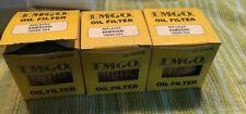 1983-2005 Kawasaki KL250 KLR EMGO 10-30000 Oil Filter 3 Pack