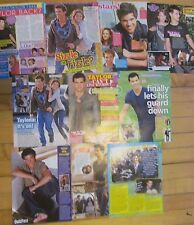 Taylor Lautner, Lot of TEN Full Page Clippings