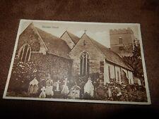 1927 Hereford postcard - Eardisley church - Nr Knighton