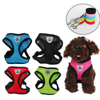 Libati Cat Dog Adjustable Harness Vest Walking Lead Leash For Puppy Dogs
