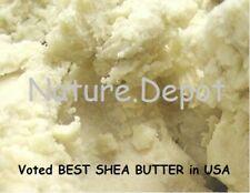 ORIGINAL 100%ORGANIC VIRGIN RAW AFRICAN SHEA BUTTER UNREFINED 16 oz 1 lb GRADE A