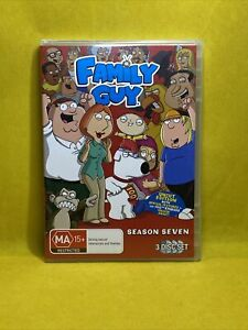 Family Guy Season 7 (DVD, Region 4, 3-Discs set) Free Post