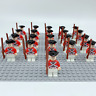 21x Army Soldiers Imperial Guards (Pirates) Mini Figures (LEGO Compatible) Toys