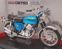 Aoshima 1/12 Scale Model Motorcycle 1043162500 - Honda CB750 Four - Blue