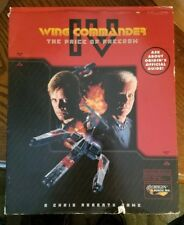Wing Commander IV 4 The Price Of Freedom Big Box PC CIB Slipsleeve + Strategy Gd