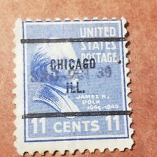 US 11 cent - Polk - CHICAGO.ILL Cancellation - Used Stamp