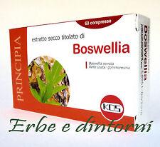 BOSWELLIA Estratto secco 60 compresse -   Artrosi, artrite, dolori articolari