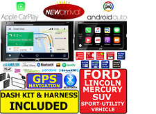 FORD LINCOLN MERCURY JVC NAVIGATION SYSTEM APPLE CARPLAY ANDROID AUTO CAR STEREO