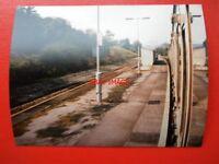 PHOTO  GLAMORGAN TREFOREST ESTATE RAILWAY STATION 1983
