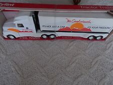 1980's Mr Goodwrench Steel Tractor Trailer by Nylint Its Your Freedom w/box L@@K