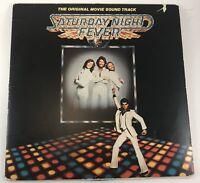 Saturday Night Fever Original Movie SoundTrack Vinyl Album 1977 RSO Records