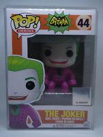 Funko Pop! The Joker #44 Batman Classic 1966 TV Series Vaulted Retired W/ Case