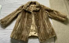 Vintage Grandella II Faux Fur Coat Winter Jacket Size 12