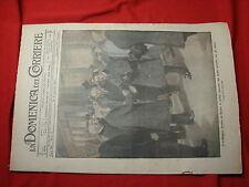 La domenica del corriere 1917 n. 2 convegno roma ministri