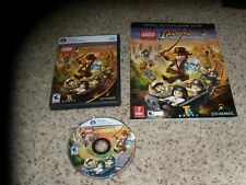 Indiana Jones 2 The Adventure Continues (PC, 2009) near mint game with guide