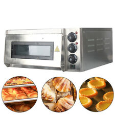 More details for electric pizza oven  single deck commercial baking oven fire stone catering ce