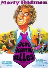 ICH KANN ALLES - Haferbrei macht sexy Marty Feldman Filmplakat A1 GEROLLT 70er