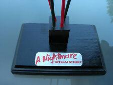 Black Stand for Freddy Glove Krueger Nightmare on Elm Street