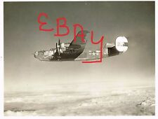 """WWII ACTION 8X10 PHOTOGRAPH OF B-24 BOMBER IN FLIGHT 8TH USAAF """"LIL SNOOKS"""" WOW"""