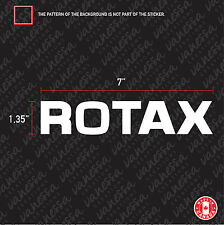 2x ROTAX PERFORMANCE GO KART  sticker vinyl decal