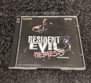 VERY RARE Resident Evil 3 Nemesis Original Soundtrack OST 2-CD PS1 Capcom