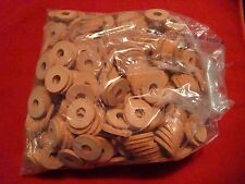 NEW GROLSCH GASKETS 500+ ORANGE RUBBER WASHERS FOR EZ CAP FLIP TOP BEER BOTTLES