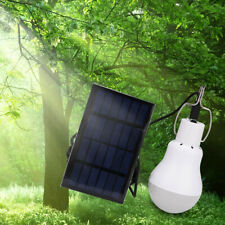 Outdoor Solar Powered LED Bulb Lights Rechargeable Camping Hanging Lantern