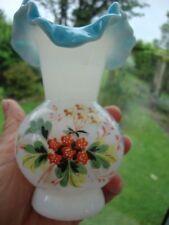 Vase Antique Original Victorian Glass