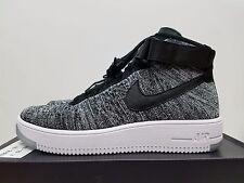 Nike Womens AF1 Flyknit Black White (Oreo) 818018-001 Size 10 = Men's 8.5