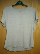 Marks & Spencer Essentials Collection pure cotton grey t-shirt, size 22