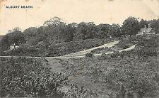 POSTCARD  SURREY  ALBURY HEATH    Circa 1908