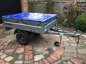 Brenderup trailer 5ft x4ft