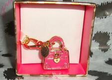 New Juicy Couture Pink Daydreamer Charm For Bracelet Necklace Handbag Keychain