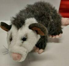 "Fiesta Opossum Plush 10"" Stuffed Animal Marsupial Wild Animal K3"