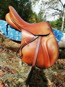 Selle Cheval Occasion Stubben Equitation Saut d'obstacles