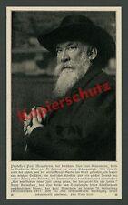 Marta Wolff Fotoporträt Maler Paul Meyerheim Todesmeldung Berlin-Tiergarten 1915