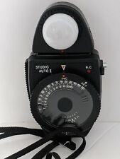 Sekonic L-448 Studio Auto II  Exposure meter Case and Strap
