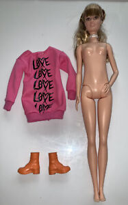 Barbie Fashionistas Wear Your Heart Out #79 Tall Complete Newly Unboxed (522)