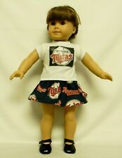 Minnesota Twins Outfit For 18 Inch Doll