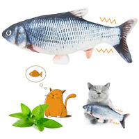Cat Toy Electric Automatic Pet Catnip Fish Simulation Toys Interactive Game USB