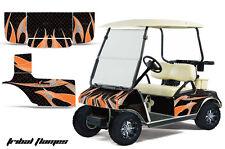 Club Car Golf Cart Graphic Kit Wrap Parts AMR Racing Decal 1983-2014 USA FLAG