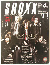 Shoxx #170 April 2007 Japanese Magazine J-Rock Visual K Kagrra Gazette
