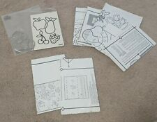 Plaid Gallery Glass Supplies Custom Bundle 9 Patterns and 2 Leading Blank Sheets