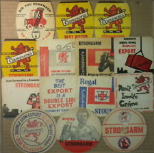 14 Different Old Camerons Brewery Hartlepool Beermats Coasters Bierdeckel