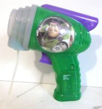 Disney Parks Buzz Lightyear LED Bubble Blower Gun Blaster Toy