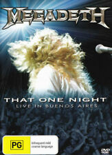 Megadeth That One Night Live in Buenos Aires DVD Region 4 Shi