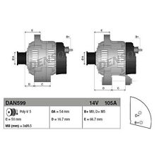 Generator DENSO DAN599